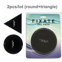Wholesale sticky pad cell phone holder online – 2pcs Fixate Gel Pads Strong Sticky Anti Slip Mat Non Slip Car Dashboard Wall Sticker Pad Magic Cell Phone Holder With Retial Package