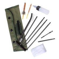 калибра орудий оптовых-Набор чистки оружия винтовки установленный для 5.56 мм.223 .22 Калибра Нейлон Щетка Для Пылесоса