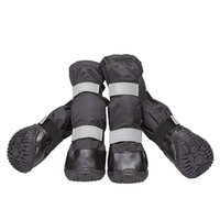 sapatos de cachorro grande venda por atacado-Botas de cão Grande Cão Sapatos Botas de Neve Botas de Chuva Avançado À Prova D 'Água Sapatos de Neve Quente Longo Sapato Para o Inverno