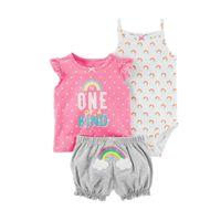 Wholesale baby clothing sets 3pc for sale - Group buy Fashion Orangemom Summer short sleeve baby sets for baby girl clothes pc cotton girls clothing set Toddler baby clothing Y190515