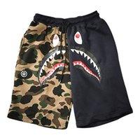 Wholesale cartoon beach shorts resale online - Funny Cartoon Sweatpants Men Camouflage Outdoor Camo Printed Mens Hip Hop Shorts Beach Man Clothes Men Summer Leopard XD038