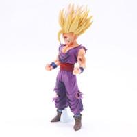 ingrosso anime figurine pvc-Anime Dragon Ball Z Super Saiyan Son Gohan Action Figure Master Stars Pezzo Dragonball Figurine da collezione Model Toy