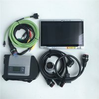 Wholesale das mb star c4 sd connect for sale - Group buy 2019 V Software Sd Connect Diagnose tool with Toughbook CF AX2 i5 G MB star C4 car truck repair scanner added das special