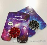 suporte de telefone celular design venda por atacado-Design de 360 Graus Shiny Diamond Stand Anel de Dedo Telefone Celular Celular Airbag Titular Para Todo o Telefone