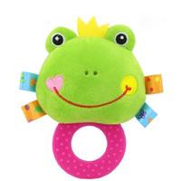 anneau de dentition de singe achat en gros de-Happy Monkey Brand Baby Toy 0-1-3 Infant BIBI Jouet de dentition Hochet