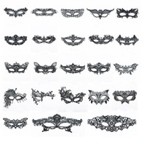 Wholesale lace mask makeup for sale - Group buy Sexy Makeup dance Mask Hot selling Lace blindfold Halloween party women half masks Party Fashion Mask T9I0051