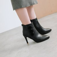 лучшие меха оптовых-Big Size 11 12 13 14 15 16 17 Shoes, Furs, High Heels,  Boots, Tips, Fine Heels, All-in-One Boots