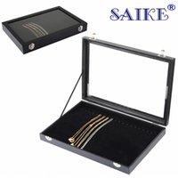 Wholesale bridge boxes resale online - 20 seat necklace bridge Bracelet bracelet plate jewelry display box jewelry display box