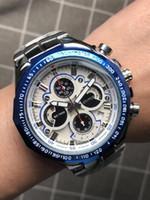 herrenuhren wolfram stahl großhandel-Top Herrenuhren Luxus Herren Marke Maschinen Uhr Tourbillon Wolfram Stahlband volle Funktion Armbanduhren Frauen Quarzuhr