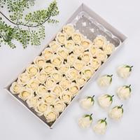 Wholesale mini foam wreaths for sale - Group buy TPFOCUS Mini Foam Rose Artificial Flower Bouquet Wedding Flower Decoration Scrapbooking DIY Wreath Fake Rose Flowers