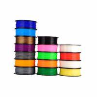 3d druckermaterialien großhandel-ABS 3D Filament 3D Filament ABS Filament ABS / PLA 1.75mm Kunststoff-Gummi-Druckmaterial für 3D Drucker Pen Verbrauchsmaterial
