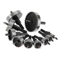 werkzeugschneider groihandel-erramientas para carpinteria DRELD 1Pc 12-35mm HSS Lochsäge Bohrer HSS-Stahl Lochsäge Spanabhebegerät Drilling Power Tool herramien ...
