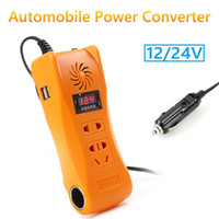 Wholesale car power inverter 24v for sale - Group buy 200W Power Inverter Digital Display with Sufficient Durability and Redness DC V V to AC V MSW Car Truck Inverter