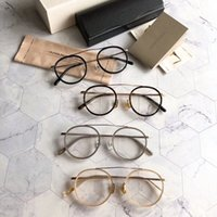 oliver peoples óculos venda por atacado-Atacado-oliver peoples MP-3-XL Óculos Redondos Óculos de Armação 49/22/145 Novo com Moldura BoxOptical