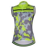 Wholesale aogda cycling for sale - Group buy Aogda Green Sleeveless Cycling Vest Breathable Quick Dry Men Summer Clothing Ropa Ciclismo