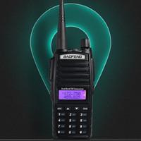 talkie walkie baofeng uv 8w toptan satış-Walkie Talkie BaoFeng 8W UV-82 Çift Bant 136-174 / 400-520 MHz FM Ham İki Yönlü Radyo, Telsiz, Walkie Talkie