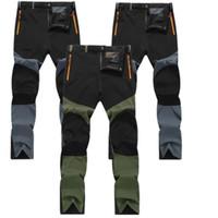 Waterproof Outdoor Mens Camping Tactical Cargo Pants Casual Combat Trousers Hot