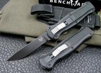 tezgah cep bıçakları toptan satış-Üst ! Tezgah Eylem Otomatik 3300 3310BK Bıçak BENCHMADE INFIDE İyi EDC S30V çelik Mızrak noktası EDC Cep Naylon kılıf ile Taktik bıçaklar
