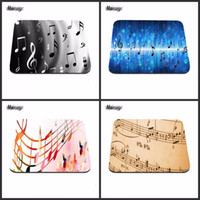 Wholesale music mats for sale - Group buy Music Notation Print Computer Gaming Mouse Pad Gamer Play Mats Customization Supported Decorate You Desk cm