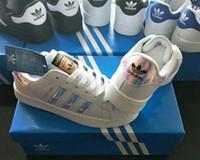 beyaz kabuk kadın toptan satış-Sıcak popüler yeni varış erkek kadın Ayakkabı Rahat atletizm Yürüyüş hava bir arı kaplan Kabuk Ayak Açık sneakers spor Ayakkabı beyaz NO49710