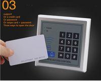 Wholesale rfid entry card resale online - new in stock YOA RFID Toegangscontrole Systeem Apparaat Machine Beveiliging Proximity Entry Deurvergrendeling Kwaliteit DHL