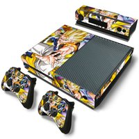 Wholesale xbox one console skins for sale - Group buy Fanstore Skin Sticker Protective Vinyl Decal Dragon Ball for Xbox One Console Kinect Controllers