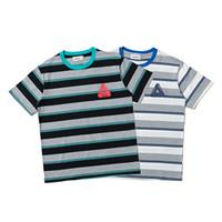 ingrosso mens tee sport di polo-Palaces t-shirt mens Tshirt New Fashion trend Magliette di cotone di qualità uomini manica corta polo sport tempo libero strada hip hop logo 3D tee