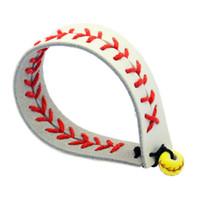 verstellbare lederband armbänder großhandel-Heißer verkauf mode schreiben gelb einstellbar geflochtene kuh leder schnur armband