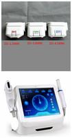 mejor máquina de elevación facial al por mayor-2 IN1 HIFU Máquina de belleza Lifting facial de ultrasonido enfocado de alta intensidad Mejores cartuchos de transductor para máquina HIFU