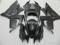 carenado inferior para kawasaki ninja al por mayor-Juego de carenado de piezas de moto de menor precio para Kawasaki Ninja ZX10R 04 05 carenados de motocicleta negro mate set ZX10R 2004 2005 MT51