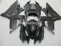 Wholesale moto fairings set for sale - Group buy Lower price moto parts fairing kit for Kawasaki Ninja ZX10R matte black motorcycle fairings set ZX10R MT51