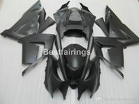 ninja moto venda por atacado-Menor preço peças de carenagem kit de carenagem para Kawasaki Ninja ZX10R 04 05 carenagem preto motocicleta carenagens set ZX10R 2004 2005 MT51