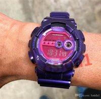 klettern armband großhandel-2019 luxus led armbanduhren sommer klettern militär sportuhren g stil led rücklicht alarm armband uhren geschenk uhr für mann