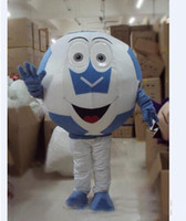 Wholesale movie costumes for sale online - 2019 Factory direct sale adult football mascot costume with for Halloween party