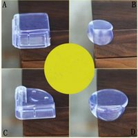 Wholesale beds protection resale online - Baby Bed Corner Protector Silicone Anti collision Corner Cushion Table Edge Safety Protection Cover Baby Safety Products Styles MMA1616