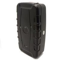Wholesale battery gps car for sale - Group buy Magnetic GPS Tracker Real Time Tracking For Car GSM GPS Tracker Free Platform APP Google Link SMS mAh Battery LK209C Alarm