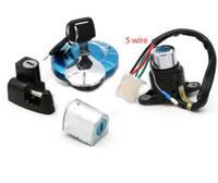 Wholesale motorcycle helmet locks resale online - Ignition Oil Fuel Gas Tank Cap Cover Helmet Seat Lock Key for Honda CMX CMX250 Rebel CA CA125