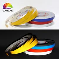 cinta reflectante de vinilo al por mayor-Envío gratis cinta decorativa coche vinilo rayas reflectantes