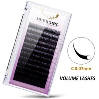 Wholesale mixed tray eyelash for sale - Group buy 12rows case mm Mix In One Tray Synthetic Mink Eyelashes Individual Eyelash Extension Makeup Cilia Professional Maquiagem Too