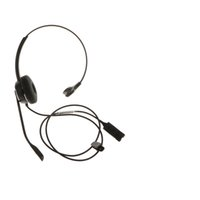 Wholesale QD RJ9 Call Center Corded Headset Noise Cancelling For Landline Phones