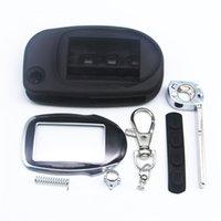 складной ключ кейс оптовых-Дело ключа M7 для Scher Khan Magicar 7 9 режиссерского крышка случая лезвия ФОБА M7 M9 складного автомобиля флип пульта + брелок стекла