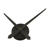 siyah el saati toptan satış-Duvar Saati Kuvars Hareketi Eller Mekanizması Onarım Aracı Yedek parça Takımı DIY Dekor Altın Gümüş Siyah