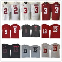 66d0a253ca4 Alabama Crimson Tide 13 Tua Tagovailoa 2018 NCAA 2 Jalen Hurts 3 Ridley 9  Bo Scarbrough Men College Football Jerseys Stitched