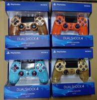 neue playstation controller großhandel-neue Box PS4 drahtloser Bluetooth Spiel Gamepad SHOCK4-Controller Playstation Für PS4 Game Controller dhl