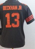 american football 13 großhandel-WomMen Clevand 6 13 Jersey Girls Shirts Stickerei und 100% genähte 2020 Vapor Limited American Football Trikots 02