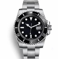 Wholesale watches online - Top Ceramic Bezel Mens Mechanical Stainless Steel Automatic Movement Watches Sports watch Self wind Watch Luminous Wristwatches