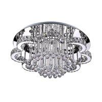 Wholesale light fixtures online - Luxury Modern LED Chandelier Round K9 Crystal Ceiling Lights for Living Room Dining Room Restaurant Lighting Fixture