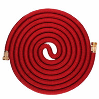 Wholesale expandable magic hose resale online - 25FT FT Durable Garden Hose Expandable Magic Flexible Water Hose For Car Water Plastic Hoses To Watering Garde