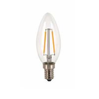 b22 4x3w led toptan satış-Neyse Aydınlatma için 2w 4w 6W E14 Led Ampul 220V Vintage Filament Lamba Dim C35 Led Ampul