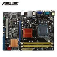 intel asus anakart toptan satış-ASUS P5KPL-AM SE Anakart LGA 775 DDR2 4 GB Intel G31 P5KPL-AM SE Için Masaüstü Anakart Systemboard SATA II PCI-E X16 Kullanılan